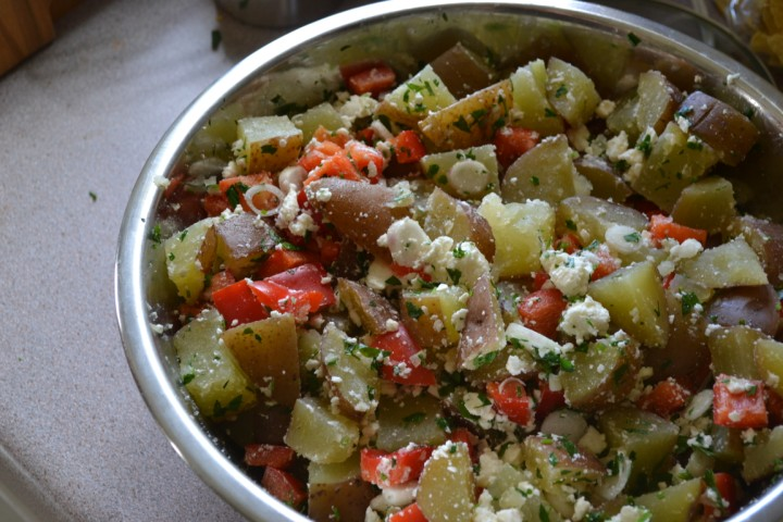 potato salad based off a Kavarna r